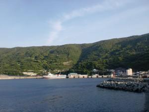 佐田岬の三崎港の画像