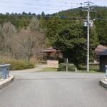 木の香ランド入口にある「きのかはし」を渡ったところの画像