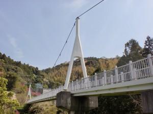 ゆらりんこ橋(二丈渓谷遊歩道入口)の画像