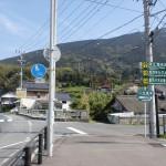 国道202号線から木の香ランド・ゆらりんこ橋方面へ向かうT字路の画像