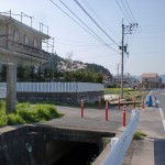 鏡山登山道入口(西展望台コース)の画像