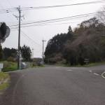 金武駅からトラピスト修道院に行く途中の2つ目の分岐の画像