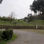 トラピスト修道院手前の大きく里ダリカーブしている地点の画像