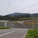 伊万里有田共立病院駐車場横のT字路の画像