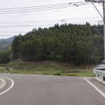 伊万里有田共立病院からあすなろの里方面に向かうT字路の先のT字路の画像