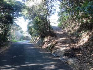 韮岳の登山道入口(佐々町)の画像
