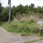 佐志岳登山道入口の画像