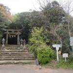 志々伎神社参道入口(平戸)の画像