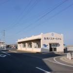 一部桟橋バス停(生月バスターミナル)の画像