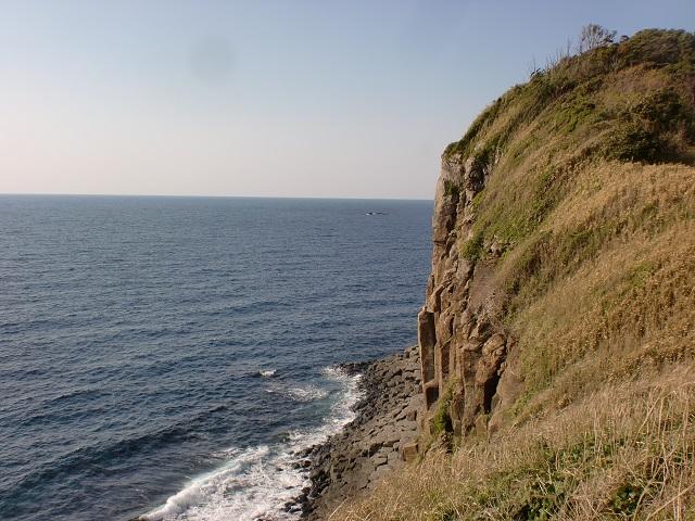 生月島自然歩道の登山口 塩俵断崖と大バエ灯台へのアクセス