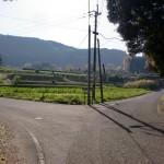 石倉山森林公園への分岐地点の画像