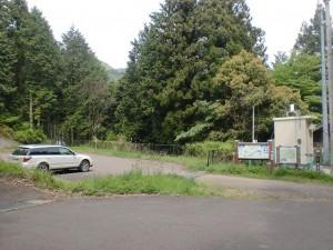 相栗峠の駐車場の画像