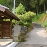 龍泉禅寺(竜泉寺)前の小道の画像