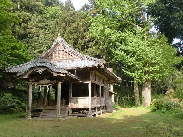 清良神社(龍泉禅寺(竜泉寺)の上にある)の画像