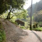 泉ヶ森登山道入口(宇和島市)の画像
