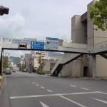 宇和島バスセンター前の交差点の画像
