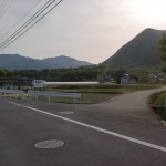 県道129号線沿いにある那智山への入口