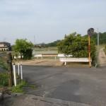 那智山の入口の少し先にある橋を渡った先のT字路を左折した先の辻の画像