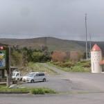 ミルク園前から大野ヶ原を望む(大野ヶ原登山口)の画像