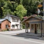 大崎(土佐大崎・大崎駅)バス停(黒岩観光・仁淀川町コミュニティバス)の画像