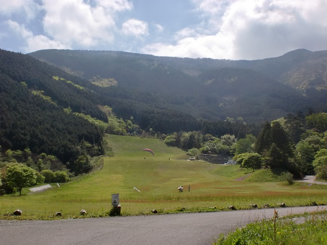 中津明神山の登山口 吾川スカイパークと中津渓谷へのアクセス