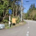 下り付バス停(伊予鉄南予バス)の画像