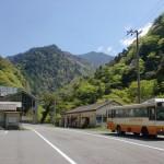 面河バス停(伊予鉄南予バス)の画像