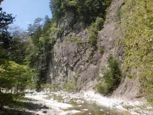面河渓谷の画像