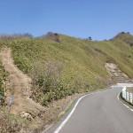 石鎚スカイラインの東黒森登山口(主谷分岐)の画像