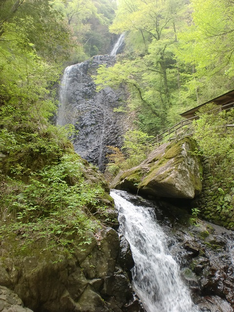 石墨山の登山口 唐岬ノ滝と白猪ノ滝にアクセスする方法