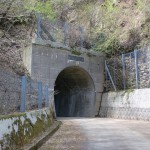 林道梅ヶ谷永子線の井内峠隧道入口(北口)の画像