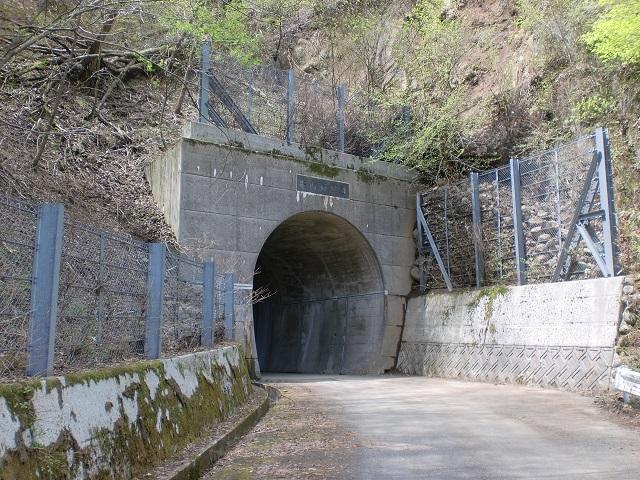 梅ヶ谷山・うなめごの登山口 井内峠隧道南口にアクセスする方法