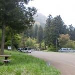 上林森林公園の駐車場の画像
