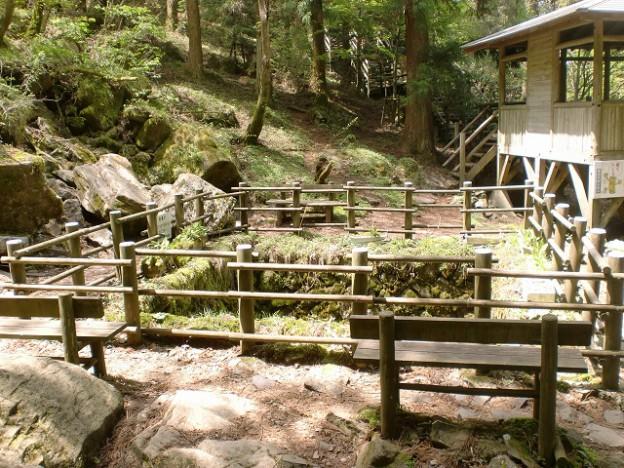 上林森林公園の風穴の画像