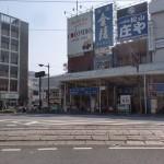 松山市駅バス停5番のりばの画像