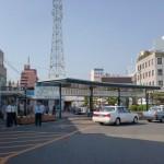 松山駅前バス停の画像