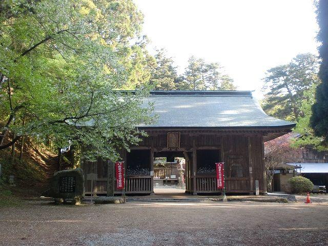 高縄山の登山口 東頭神社と宝入橋にアクセスする方法