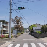 朝倉支所前の交差点(今治市)の画像