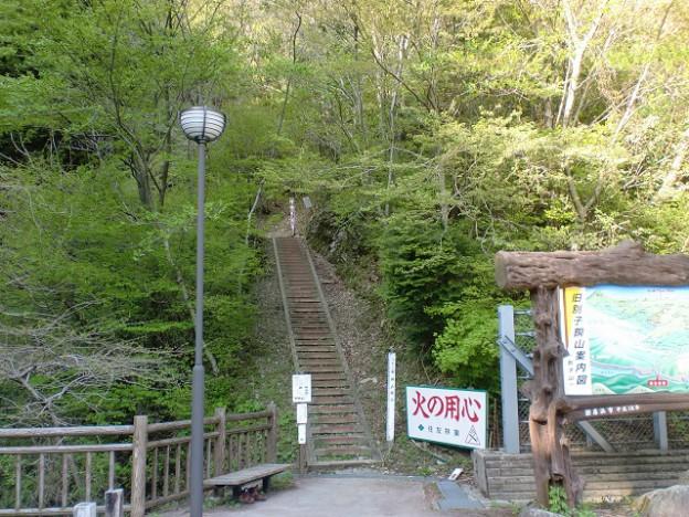 旧別子銅山跡入口(日浦登山口)の登山道入口の画像