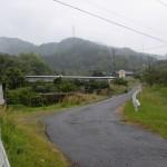 松尾城跡の登り口付近の画像