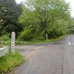 森林管理道唐谷線(林道唐谷線)の入口の画像