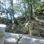 大窪寺の女体山登山道入口の画像