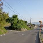 三木町総合運動公園入口手前の分岐地点の画像