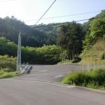 公渕森林公園の第7第8駐車場前