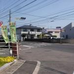 JR讃岐津田駅前の国道11号線の交差点