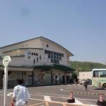 JR志度駅(JR高徳線)と志度駅バス停の画像