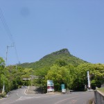 屋島神社参道入口と屋島ドライブウェイの入口