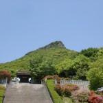屋島神社本殿あたりから見る屋島南嶺