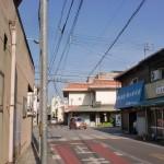 仏生山駅からちきり神社に向かう途中の交差点