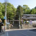 ちきり神社参道入口前